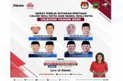 Live di iNews dan RCTI+ Sabtu Besok Pukul 14.30, Saksikan Serunya Debat Pilkada Cilegon Banten