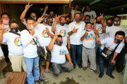 Sopir Angkot Antusias Bertemu Cawawako Medan Pasangan Bobby Nasution