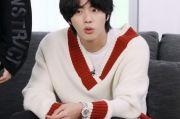 Intip Gaya Jin BTS, Kenakan Sweater Rp900 ribuan dan Jam Tangan Rp1,4 M