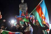 Rakyat Azerbaijan Rayakan Pembebasan Distrik di Nagorno Karabakh