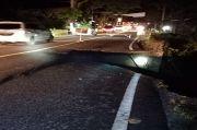 Jalan Nasional dan Provinsi di Simalungun Hancur Dihantam Longsor