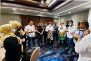 Debat II Pilkada Medan, Akhyar Pakai Songket Minang, Salman Kenakan Batik
