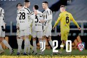 Ronaldo Borong Dua Gol ke Gawang Cagliari, Juventus Cetak Clean Sheet Pertama di Serie A