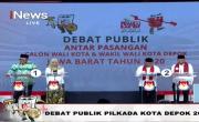 Debat Perdana di iNews TV, Idris-Imam Ditanya Cara Menaikkan PAD