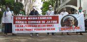 Aliansi Cinta NKRI Tolak Rizieq Shihab Datang ke Jawa Timur