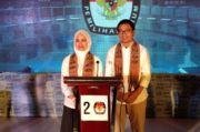 Debat Kandidat Pilkada Luwu Utara, Rahmat Laguni Akui Kecerdasan Suaib Mansur