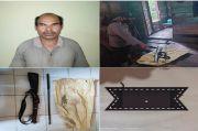 Miliki Senjata Api Rakitan Tanpa Izin, Pria Paruh Baya Ditangkap Polisi
