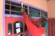 Tolak Bala Letusan, Warga Lereng Merapi Pasang Janur Kuning dan Sediakan Air Bunga