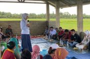 Usai Debat, Indah Putri Indriani Langsung ke Sawah