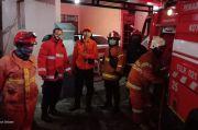 Diduga Korsleting Listrik, Rumah di Jalan Jamblang Terbakar