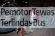 Pemotor Tewas Terlindas Bus Transjakarta di Jalan Raya Bogor