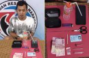 Nyambi Jualan Sabu, Buruh di Kotawaringin Barat Dibekuk Polisi