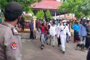 Ratusan Santri Banten dan Simpatisan FPI Apel Akbar, Siap Kawal Habib Rizieq