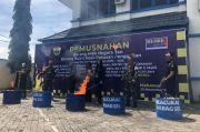 Bea Cukai Sulbagsel Musnahkan Rp7,7 Miliar Barang Hasil Sitaan Negara
