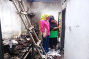Tangis Korban Kebakaran di Sidoarjo Pecah Saat Didatangi Wanita Cantik Ini