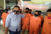 Polres Padangsidimpuan Ciduk Komplotan Pencuri Motor Antar Kabupaten