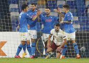 Kemenangan Napoli atas Rijeka Jadi Kado Perpisahan untuk Maradona