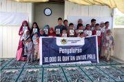 Bentuk SDM Sejak Dini, 10 Ribu Al-Quran Disalurkan ke Wilayah Ini