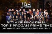 RCTI Kuasai Top 3 Program Prime Time, AMI Awards Tembus Audience Share 21,2%!