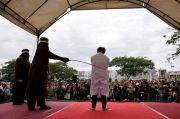 Pemerkosa Anak di Aceh Ambruk Dicambuk Ratusan Kali Disorot Media Asing