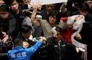 Ribut di Parlemen Taiwan, Baku Tinju dan Usus Babi Beterbangan