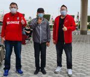 Dubes RI Sambut Tim Nasional Bola Basket yang Bertanding di Bahrain