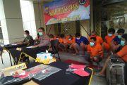 Polda DIY Gulung 20 Pelaku Curanmor, 14 Kendaraan Diamankan