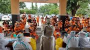 Syarat Sertifikasi, 152 Petugas PPSU di Cilincing Ikuti Rapid Test
