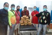 Dagang Ganja, Pasutri asal Batubara Dicokok Polisi Menyaru Pembeli