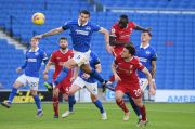 Liverpool Gagal Kalahkan Brighton, Henderson Enggan Salahkan Badai Cedera