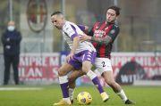 Fiorentina Gagal Hentikan Laju AC Milan, Rekor Baru Tercipta