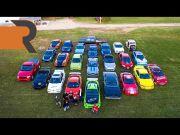 Edan, Pria Ini Koleksi 24 Mobil Replika Fast and Furious