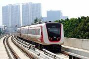 Kemajuan Pembangunan LRT Jabodebek Capai 79,52%