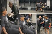 Tyson Pakai Peci Hitam, Ini yang Iron Mike Lakukan di Ruang Ganti