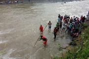 Debit Air Meninggi, Remaja di Purbalingga Hilang Tenggelam Terseret Arus Sungai