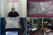Pria di Lubuklinggau Dibekuk Polisi Saat Bersantai Menunggu Pembeli Sabu