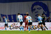 Bantai Roma 4-0, Napoli Persembahkan Kemenangan bagi Mendiang Maradona