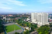 Staycation Sejenak dengan Pemandangan Gedung Sate Bandung