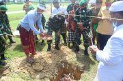 Pembangunan Pura Dimulai, Yonif 725 Kokohkan Kerukunan Umat di Konawe Selatan