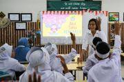 Pesan Bu Sri Mulyani: Anak-anak Sekolah Ayo Jaga Protokol Kesehatan