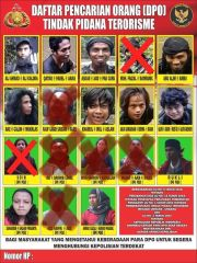 Ini Penampakan Pimpinan MIT Ali Kalora dan 10 Anak Buahnya yang Dicari-cari Polisi