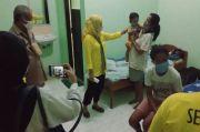 Yuni Damayanti Berbagi Kasih dengan Korban Bencana Erupsi Ile Lewotolok