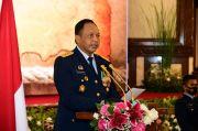 KSAU Pimpin Upacara Wisuda Purnawira Pati TNI AU