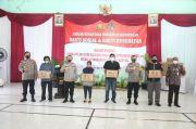 Satgas Nusantara Bagikan 1.500 Sembako dan Rapid Test Gratis di Bantul