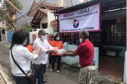 Perindo Bagikan 200 Nasi Kotak dan Masker pada Komunitas Pemulung di Jakarta Pusat