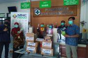 Tenaga Medis-Pegawai Puskesmas Banjaran Kota Sumringah Terima Bantuan MNC Peduli