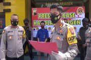 Cemburu, Janda Kembang Luka-luka Dianiaya dan Motornya Dibakar Residivis