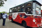 Gubernur dan Pj Wali Kota Resmikan Bus Wisata Metro Makassar