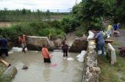 Curah Hujan Tinggi, Puluhan Jaringan Irigasi di Simalungun Rusak Diterjang Banjir