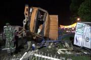 Rem Blong, Truk Hantam 4 Sepeda Motor dan 1 Mobil Satreskoba Polres Lampung